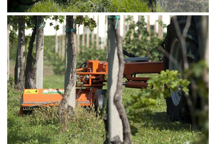 意大利RINIERI避让式割草机